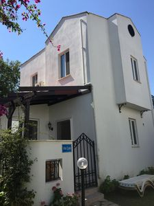 Photo for Villa cicek, privacy, beautiful gardens & pool, 5 minutes walk to Dalyan resort