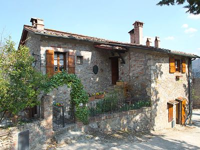 Photo for Vacation home Il Casale  in Monticiano, Siena and sourroundings - 5 persons, 3 bedrooms