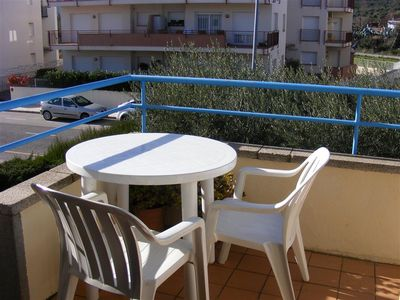 Photo for Spacious apartment just steps from the beach in the quiet area of Sant Carles.
