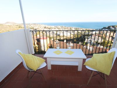Photo for PANORAMAR. Apartment with Panoramic Sea Views near the Spa