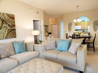 Photo for Windsor Hills New 3 BR- 2 BA Penthouse Poolview Condo - Princess & Mickey Rooms