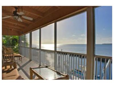 Spacious Lanai Offering Long Ocean Views