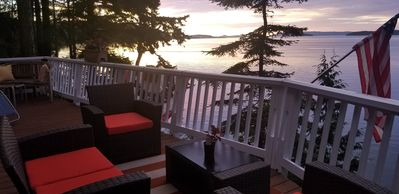 Photo for Cute as Can Be Waterfront Chalet with Fabulous Views. Near Friday Harbor