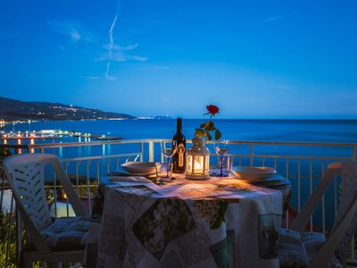 Photo for Holiday home with sea view in Cilento summer holidays by the sea in cilento italy
