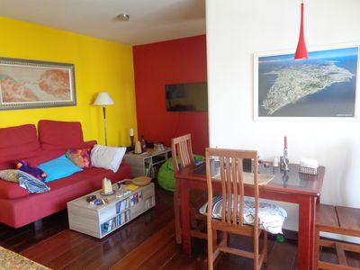 Photo for Quite, spacious and newly furnished apartment in Salvador for long stays