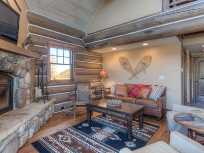 Photo for True Montana Magic! Ski Chalet With Private Hot Tub And Serene Mountain Views.