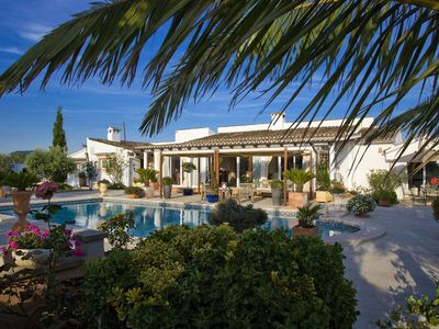 Photo for bright villa in a central location with its own large pool and garden