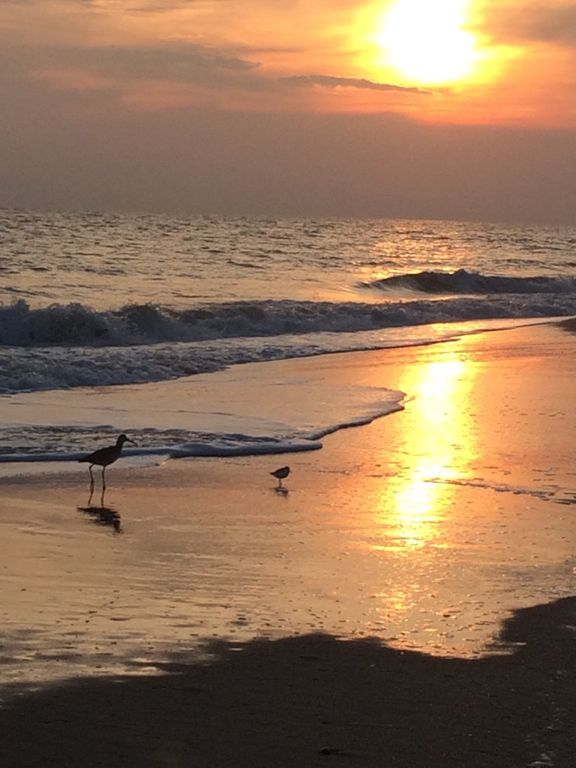Sunset At Holden Beach From Outtatheblue