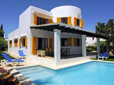 Photo for 5 bedroom Villa, sleeps 12 in Cala d'Or with Air Con and WiFi