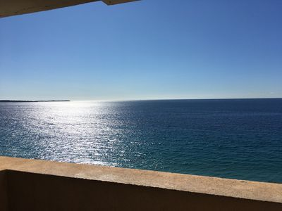 Photo for Holiday home 702 with balconies overlooking the sea, right on the beach