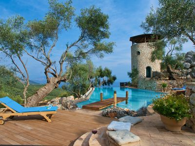 "Photo for Luxury Private Villa In Corfu. ""£1000 reduction per week"" contact owner for info"