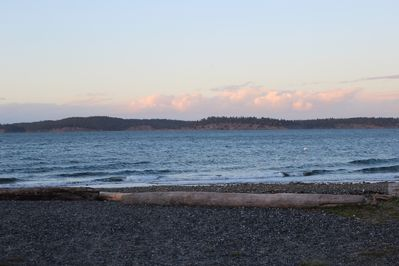 View of North Beach— Short walk from house