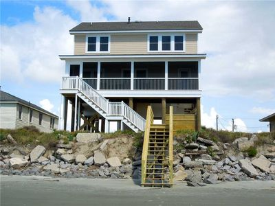 Photo for Spacious Oceanfront Home with Marsh Views from the Front Porch