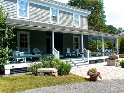 Photo for Spacious, gracious historic cottage near Shore path, in the heart of Bar Harbor