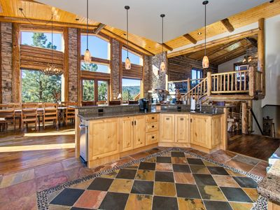 Photo for Colusa Star: Custom Built, Luxury Masterpiece Near Bear Mtn with Mountain Views! Game Table!
