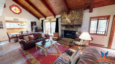 Photo for Large Deck w/ Grill; Wildlife Views; Fire Place! Whispering Pines