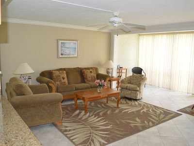 Photo for Magnificent Bayside Unit 513 –1st floor by the pool, Canal View, Free Cable and Wi-Fi, Central A/C, and Beach Access.