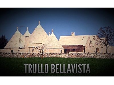 Photo for Luxury family Trullo (180m2) with large private pool, BBQ, pizzaoven and garden