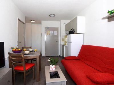 Photo for Surface area : about 38 m². Living room with bed-settee. Bedroom with double bed