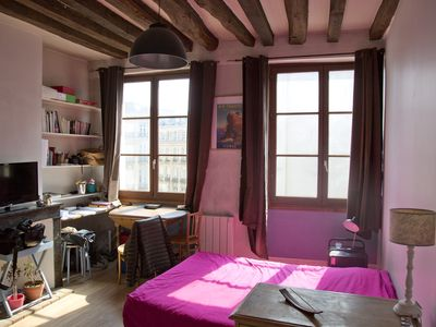Photo for Cosy studio near Notre-Dame