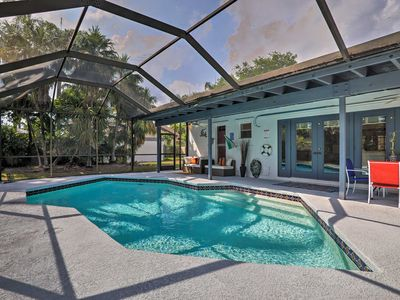 Photo for Miami Home w/ Screened-in Pool Mins from Zoo!