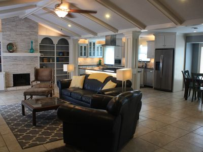 Photo for New Listing! MINUTES FROM BEACH, LUXURIOUS HOME, GREAT FOR FAMILIES! POOL TABLE!