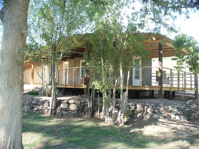 Photo for Nan Ranch - Cabin On Historic Mimbres Valley Ranch Estate -- Brookside Cabin