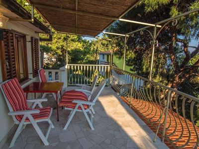 Photo for Two bedroom apartment with terrace and sea view Ivan Dolac (Hvar)