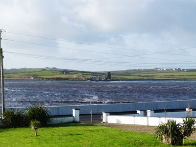 View across Doonbeg Bay from the property