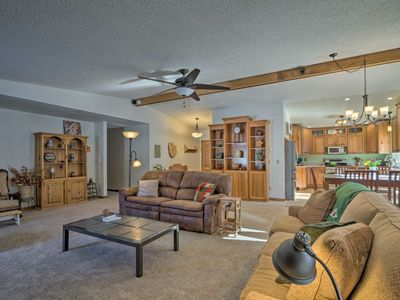 Photo for Woodland Park Home w/Private Hot Tub & Views!