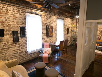Photo for Beautifully Updated Historical Apartment in the Heart of the French Quarter
