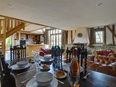 Photo for Vacation home Hartley Dyke Barn in Cranbrook - Hawkhurst - 4 persons, 2 bedrooms