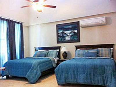 Photo for 3BD Beachfront condo, top floor with sea views, guest friendly near clubs