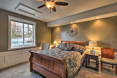 Make yourself at home when you stay at this vacation rental!