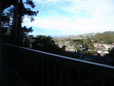 Photo for The Hilltop Is Tucked Up On A Pacifica, CA  Hill With Beautiful Views