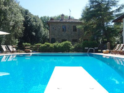 Photo for Villa in Gambassi Terme with 8 bedrooms sleeps 20