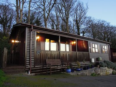 """Photo for """"Kingfisher Lodge"""" with Sea Views in a Peaceful Location"""