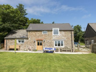 Photo for SALTY COTTAGE, pet friendly, with open fire in Morwenstow, Ref 976321