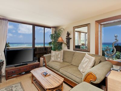 Photo for $320/ Night Special - 2 Bedroom Suite with large Lanai Over the Ocean! Sleeps 5