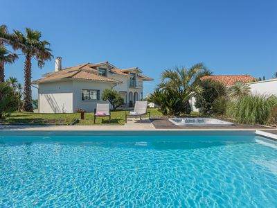 Photo for YOUCCA // VILLA BELHARRA rental with swimming pool and jacuzzi in Biarritz