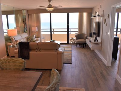 Photo for Beautifully Renovated 2 Bedroom 2 Bath Ocean Front Condo in Daytona Beach Shores