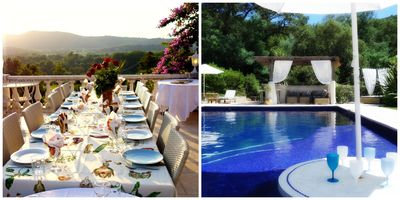 Photo for Condé Nast recommended. Pool-StTropez resort style.Views.Shops/cafes,beach close