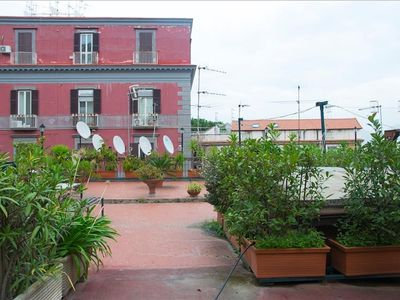 Photo for 110 m from the center of Naples with Internet, Lift, Terrace, Balcony (686478)