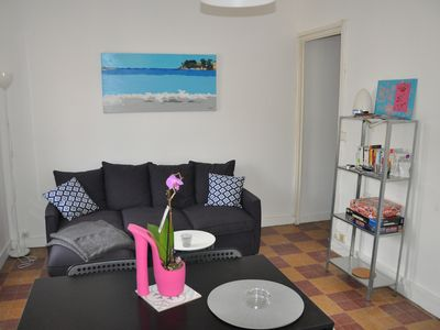 Photo for apartment for rent, T2, near port and sea, calm, Bandol, 2 to 4 people