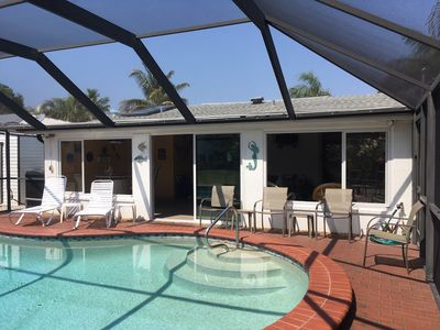 Photo for Pet Friendly Home w/Pool, Across from Beach