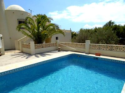 Photo for Villa in one of the most prestigious parts of the Costa Blanca (Altea la Vella) with private pool