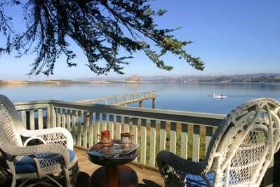 Just imagine having your morning coffee with this unobstructed water view!