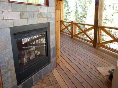Photo for Private Gilded Mountain Cabin with great views in pool community!