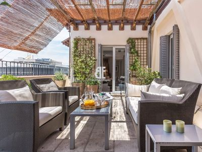 Photo for Homes In Blue - Apartment with 3 bedrooms, 2 bathrooms and 1 toilet with capacity for 6 people located on Serrano street in Madrid, the Madrid road par excellence