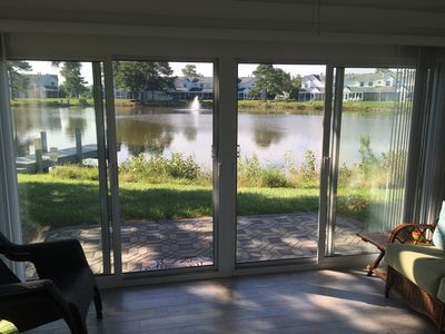 Photo for Quiet and Relaxing End Unit Townhouse with Lakefront View